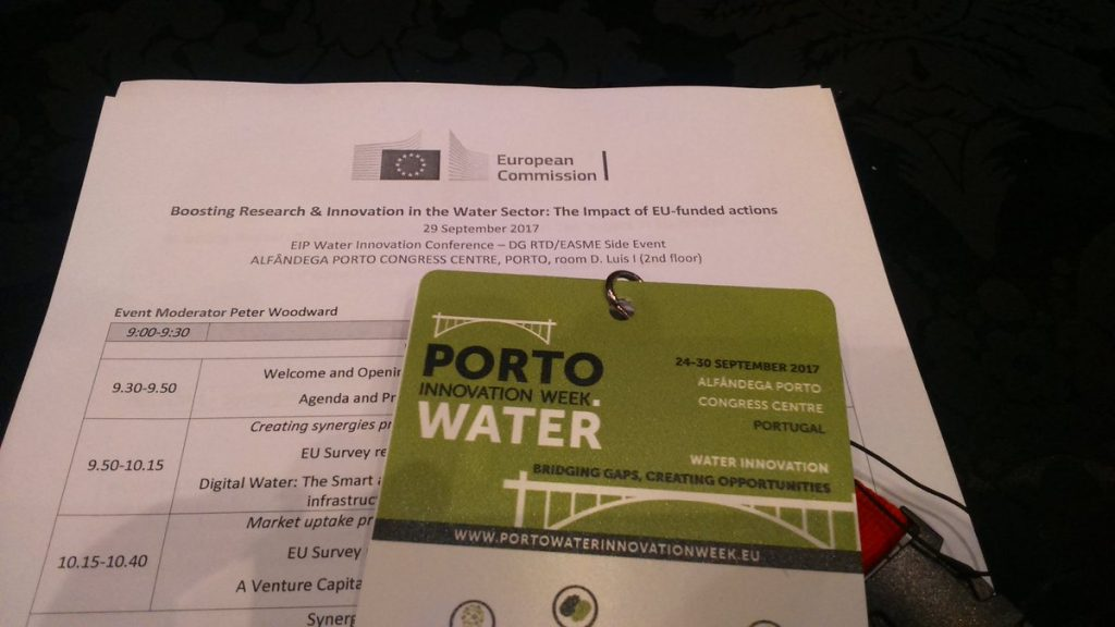 Porto Innovation week Water2return invited to the EC event