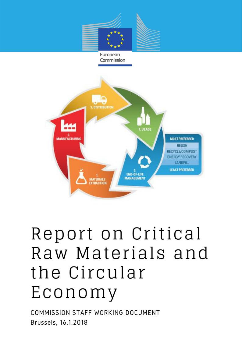 Report on Critical Raw Materials and the Circular Economy