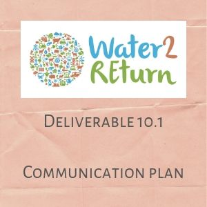 Water2REturn D10.1 Communiaction Plan