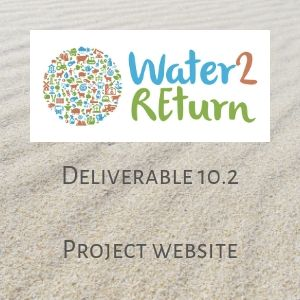 Water2REturn D10.2 Project website